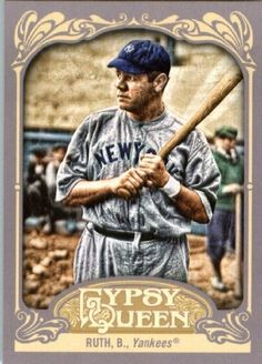 2012 Topps Gypsy Queen #300 Babe Ruth - New York Yankees (Baseball Cards) by Topps Gypsy Queen. $2.47. 2012 Topps Gypsy Queen #300 Babe Ruth - New York Yankees (Baseball Cards)