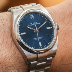 "ROLEX Oyster Perpetual Watches New For 2015 Hands-On - by James Stacey - check out the hands-on photos & our writeup: http://www.ablogtowatch.com/rolex-oyster-perpetual-watches-baselworld-2015/ ""If you can imagine Rolex as Ben and Jerry's, then the Oyster Perpetual is vanilla ice cream. It's the building block from which models like the Rolex Submariner and Rolex Daytona have evolved. For 2015, Rolex has created a new 39mm version of the Rolex Oyster Perpetual, offering a slightly larger…"