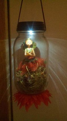 Fairy Caught in a Jar I want to make this for Alayna.