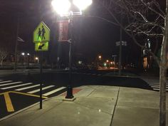I like walking alone on the cold quiet College Ave. I feel peace and relaxed.