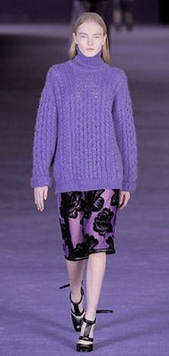 Christopher Kane Fall 2012. Photo by Anthea Simms