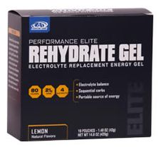 Rehydrate Gel is an electrolyte replacement energy gel designed to help you enjoy activity at your highest level. With a light lemon flavor and just 80 calories, this portable pouch is easy to use and carry during the most strenuous exercise. Whether you want to boost, replenish or recover, Rehydrate Gel provides the electrolytes and carbohydrates you need to help you get the most out of any run, workout, swim or ride.