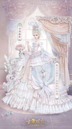 Beautiful Anime Girl, Beautiful Outfits, Star Fashion, Fashion Art, Japonese Girl, Writing Fantasy, Goth Dress, Anime Princess, Anime Dress