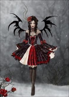 Gothic Princesse by Nene Thomas - my all time favourite.  I hope to have this dress made for me one day!