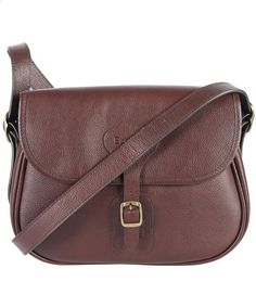 Womens Barbour Leather Beaufort Bag