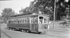 Des Moines Railway streetcar, Ingersoll line, 1930's They got lots of my nickels and dimes...my main transportation for a good while.