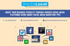 Now connect your business with your local community through Workslocal local area marketing team. Their expert will prepare a complete marketing strategy for your business using various social media marketing tips that both meet your budget and business promotional needs. Their marketing services are available at competitive prices. Contact their team today and get the free initial business quote today.