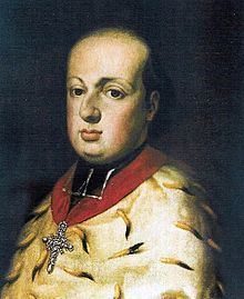 Maximilian Franz Austria - The Elector of Cologne. B worked in his court in the chapel as an organist and in the orchestra and opera playing the viola.