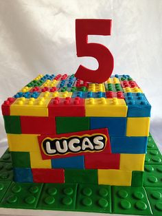 Lego cake (2604) | www.asweetdesign.info 818-363-9825 | A Sweet Design | Flickr