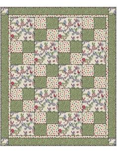 Use flannel for a soft lap quilt.  LIFE IS TWEET SEW QUICK 3 YD QUILT KIT 48 x 58 inches