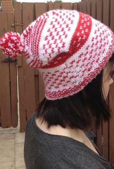Whirly Pop Hat by Mindy Vasil