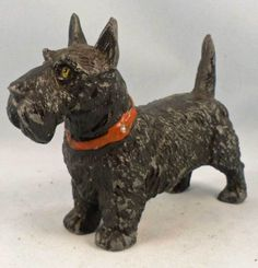 Old-vintage-antique-metal-Scottish-terrier-Scotty-dog-FREE-SHIPPING-Scottie