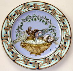 1999 Rosenthal Versace Porcelain Millenium Plate- such a great border