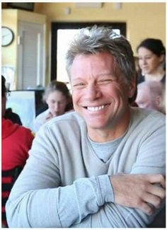 There's only one Jon Bon Jovi, but I wish more men would look up to him as a role model. Love him.