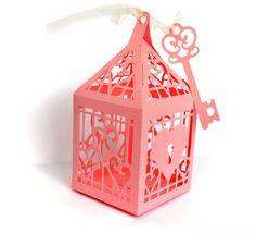 Key to My Heart Lantern Favor Box or Gift Box: SVG file and Printable PDF