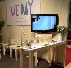 Stand en Belmoda de Weday |Vídeos de boda  +info: www.weday.es