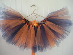University of Virginia Cavalier Tutu  Navy & Orange by FootFlair, $20.00