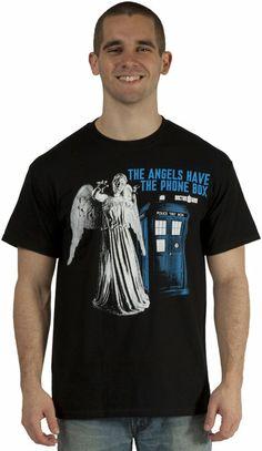 Angels Have Phone Box Shirt