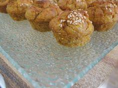 Muffins de cenoura e gengibre