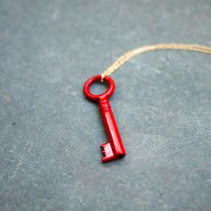 Kette Found Key Rot, £36, now featured on Fab.