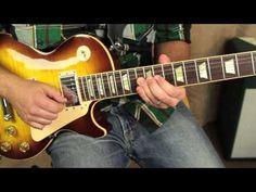 Joe Bonamassa Inspired Guitar Lick - Blues Rock Guitar Lessons - Speed Building Excercise
