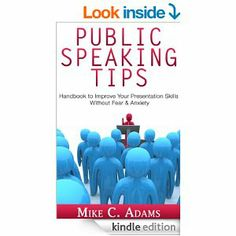 http://amzn.to/Odi5sj #Kindle ebook: (Free with a Prime membership) Public speaking tips : Improve your presentation skills, stop your fear of public speaking and do an effective presentation (anxiety free book)