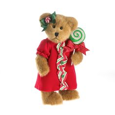 """BOYDS CHRISTMAS CANDYKINS FAMILY - 12"""" LOLLI CANDYKINS w/SPIRAL LOLLIPOP  NEW/13 #TheBoydsCollection"""