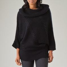 Asymmetrical Cable Stitch Sweater