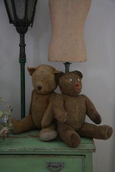 Vintage bear friends