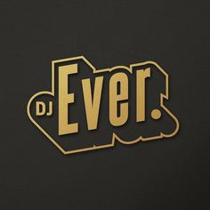 Burning the midnight oil trying to get this logo right @dj_ever by aka.dope