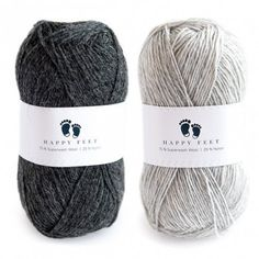 Happy Feet is our very own yarn, made up of wool and nylon. The composition makes the yarn perfect as a stretch yarn, as it is both delicious, lightweight and durable. The wool is also superwash-treated, which means it can withstand machine wash at up to Yarn Colors, Cut And Style, Knitted Hats, Winter Hats, Hair Cuts, Knitting, Crochet, Happy, Seafood