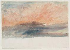 J. M. W. Turner 1. A Study of Skies 2. Sunrise 3. Sun Rising...