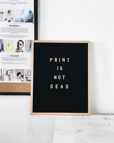 Can we get an amen to this!?  Hey @LetterFolkCo thanks for our new letterboard. Its our favorite new addition to the Darling HQ! #printisnotdead | Photo by @cassboatright  via DARLING MAGAZINE OFFICIAL INSTAGRAM - Fashion Campaigns  Culture  Advertising  Editorial Photography  Magazine Cover Designs  Feminism  Empowerment