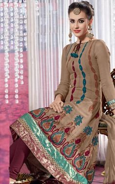 Check out this Awesome Anarkali Salwar Kameez