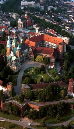 Panorama of the Wawel Hill, Kraków, Poland