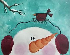 Join us at Pinot's Palette - Woodlands Studio on Sat Nov 25, 2017 3:00-5:00PM for Snowman's Best Friend. Seats are limited, reserve yours today!