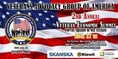 Veterans Economic Summit featuring Life Skills Training workshops, and employment opportunities for Veterans