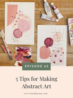5 Tips for Making Abstract Art — LAURA HORN ART 5 Tips for Making Abstract Art<br> Abstract art. I LOVE it so much and this week I am chatting about why! I am also sharing 5 tips for making abstract art. Abstract Watercolor Art, Watercolor Paintings, Art Paintings, Indian Paintings, Abstract Paintings, Water Color Abstract, Painting Art, Simple Watercolor, Abstract Portrait