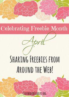 Freebie Month: April