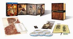 'Indiana Jones: las aventuras completas en Bluray' reúne por primera vez las cuatro inolvidables películas del dúo formado por Steven Spielberg y George Lucas. Remasterizadas digitalmente con una óptima y brillante alta definición y sonido 5.1.