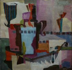 Albert Kotin, Untitled, 1946 Oil on canvas, 24 x 24 inches