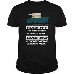 Boating Rules Boat Captain Is Always Right #ideas #image #photo #shirt #tshirt #sweatshirt #hoodie #tee #gift #perfectgift #birthday #Christmas