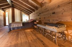 Casa Masso - Arte Rovere Antico Building Extension, Chalet Interior, Alpine Style, Decoration, Dining Table, Woodworking, Cottage, Furniture, Design