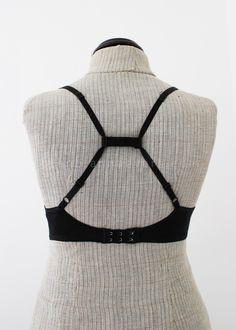 TIP: How to make a cross bra strap DIY | anna • evers - DIY Fashion blog