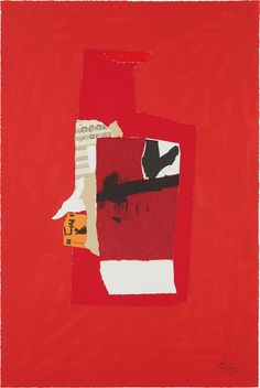 Bid now on Redness of Red by Robert Motherwell. View a wide Variety of artworks by Robert Motherwell, now available for sale on artnet Auctions. Robert Motherwell, Cy Twombly, Collages, Collage Art, Richard Diebenkorn, Gerhard Richter, Francis Bacon, Abstract Expressionism, Abstract Art