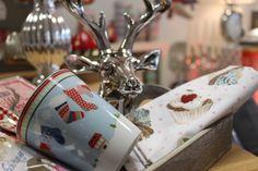 Hirsch, Happy Mug Weihnachten, Geschirrhandtuch, ...http://living-sweets.com/Krasilnikoff
