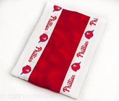 Baby Burp Cloth  Philadelphia Phillies by ClaresClothesline, $6.50