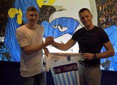 Jakub Piotrowski tekent voor KRC Genk.