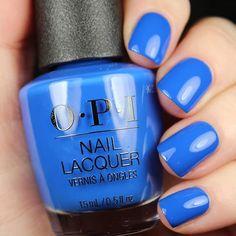 OPI  Mi Casa Es Blue Casa Opi Blue Nail Polish, Blue Nails, Nail Polishes, Nail Polish Collection, Mani Pedi, Hair And Nails, Nail Colors, Gel Nails, Nail Designs