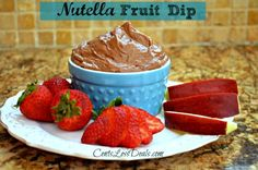 Nutella Fruit Dip recipe
